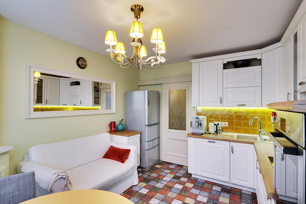 плитка для кухни на пол фото