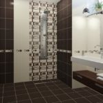 плитка для ванной комнаты идеи дизайна