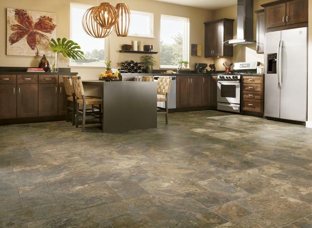 плитка из камня на кухню