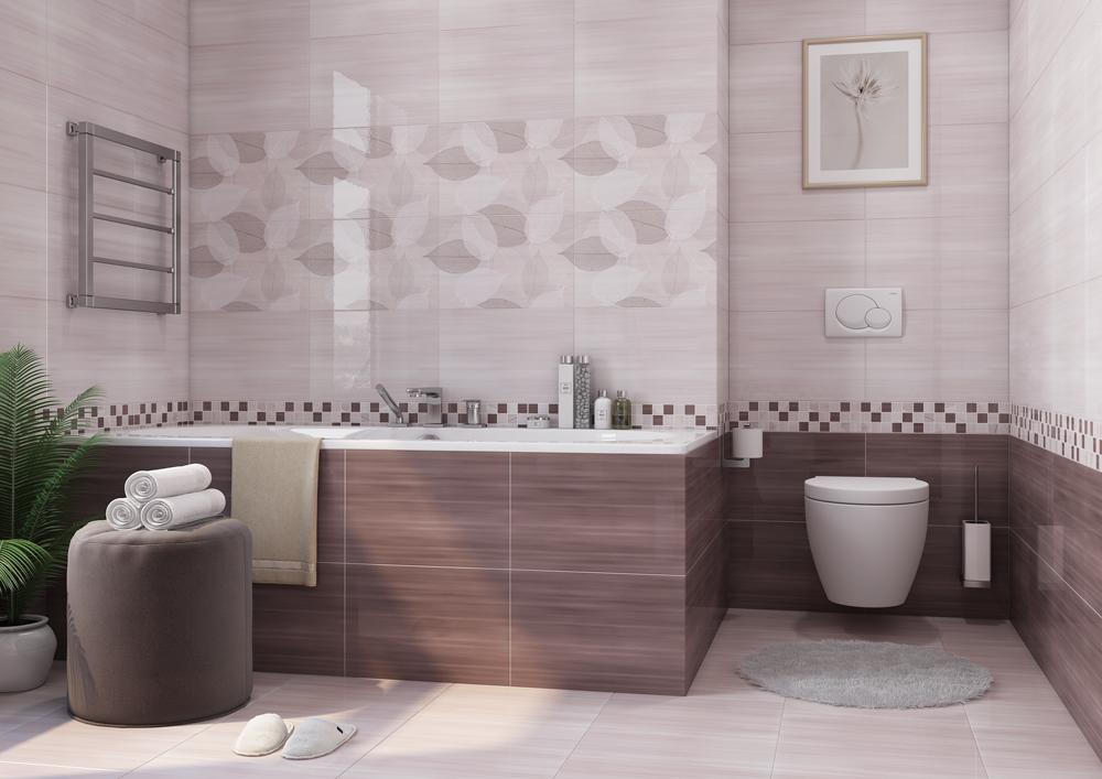 плитка в ванной Cersanit