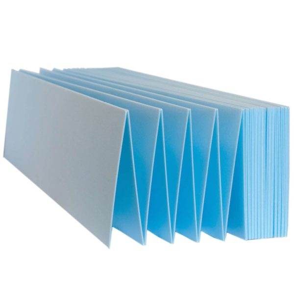 Экструдированная полистирольная подложка состоит из множества ячеек, которые плотно расположены внутри пластин и связаны друг с другом специальным вспененным материалом.