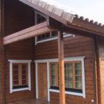 покраска деревянного дома идеи дизайн