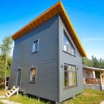 покраска деревянного дома дизайн идеи