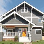 покраска деревянного дома идеи декора