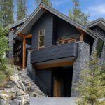 покраска деревянного дома оформление идеи
