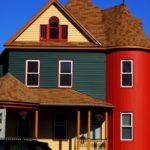 покраска деревянного дома идеи оформление