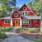 покраска деревянного дома идеи оформления