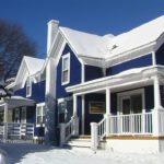 покраска деревянного дома варианты фото