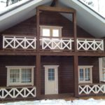 покраска деревянного дома варианты идеи