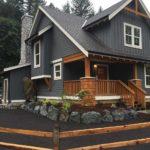 покраска деревянного дома идеи варианты