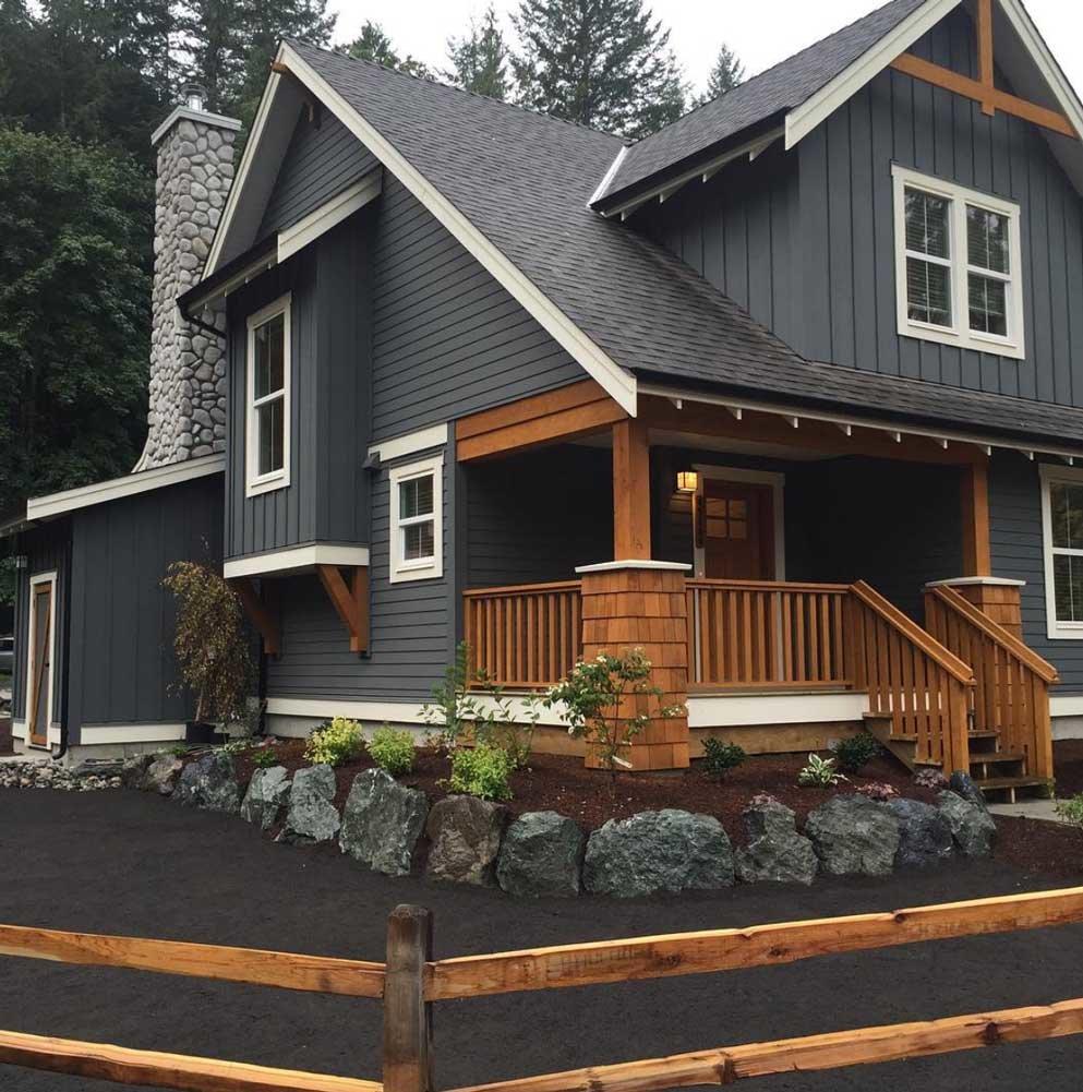 как красиво покрасить деревянный дом фото что его привозили