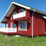 покраска деревянного дома идеи