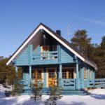 покраска деревянного дома идеи вариантов