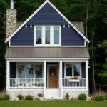 покраска деревянного дома виды