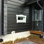 покраска деревянного дома виды фото
