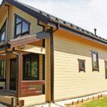 покраска деревянного дома фото виды