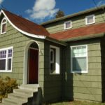 покраска деревянного дома виды идеи