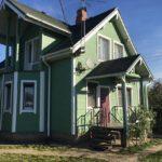 покраска деревянного дома обзор
