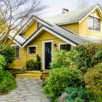 покраска деревянного дома идеи фото