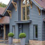 покраска деревянного дома обзор идеи