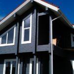 покраска деревянного дома идеи обзор