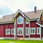 покраска деревянного дома варианты дизайна