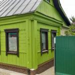 покраска деревянного дома дизайн