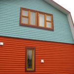 покраска деревянного дома фото дизайн