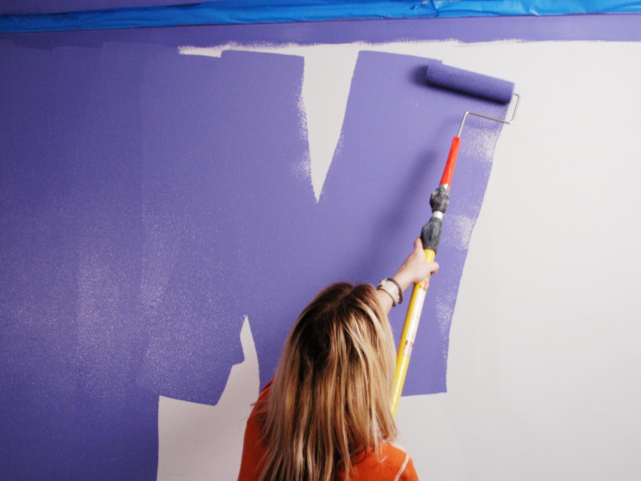покраска латексной краской