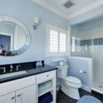 покраска стен в ванной комнате идеи декора
