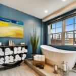 покраска стен в ванной комнате интерьер фото