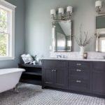 покраска стен в ванной комнате идеи оформление