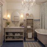 покраска стен в ванной комнате виды