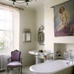 покраска стен в ванной комнате фото виды