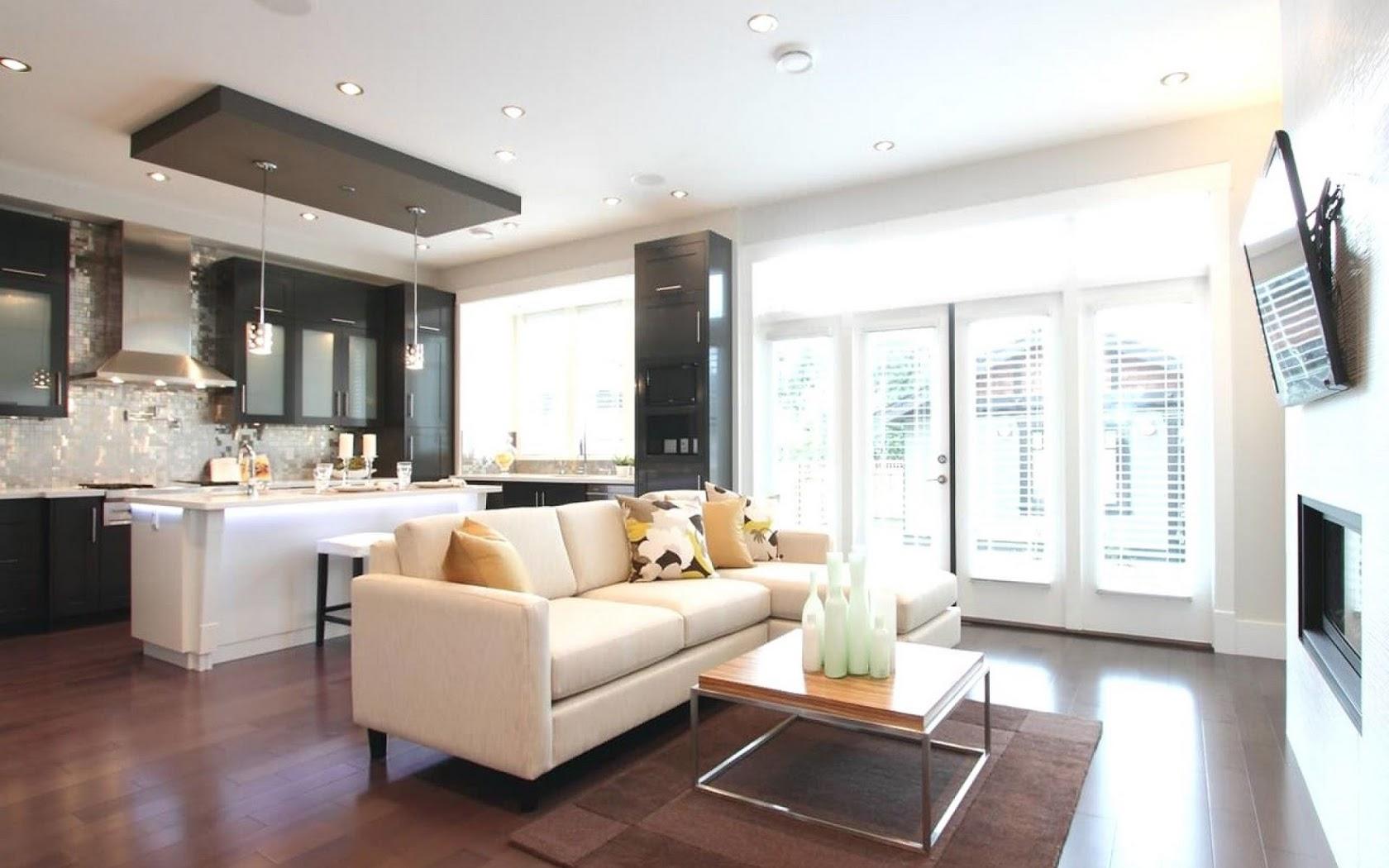 область потолок в гостиной совмещенной с кухней фото заплела обратную