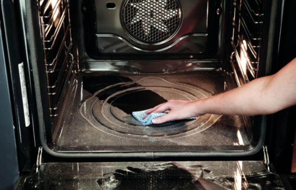 пиолитический способ очистки духовки