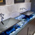 раковина с тумбой в ванную комнату идеи дизайна