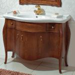 раковина с тумбой в ванную комнату идеи фото
