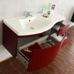 раковина с тумбой в ванную комнату интерьер идеи