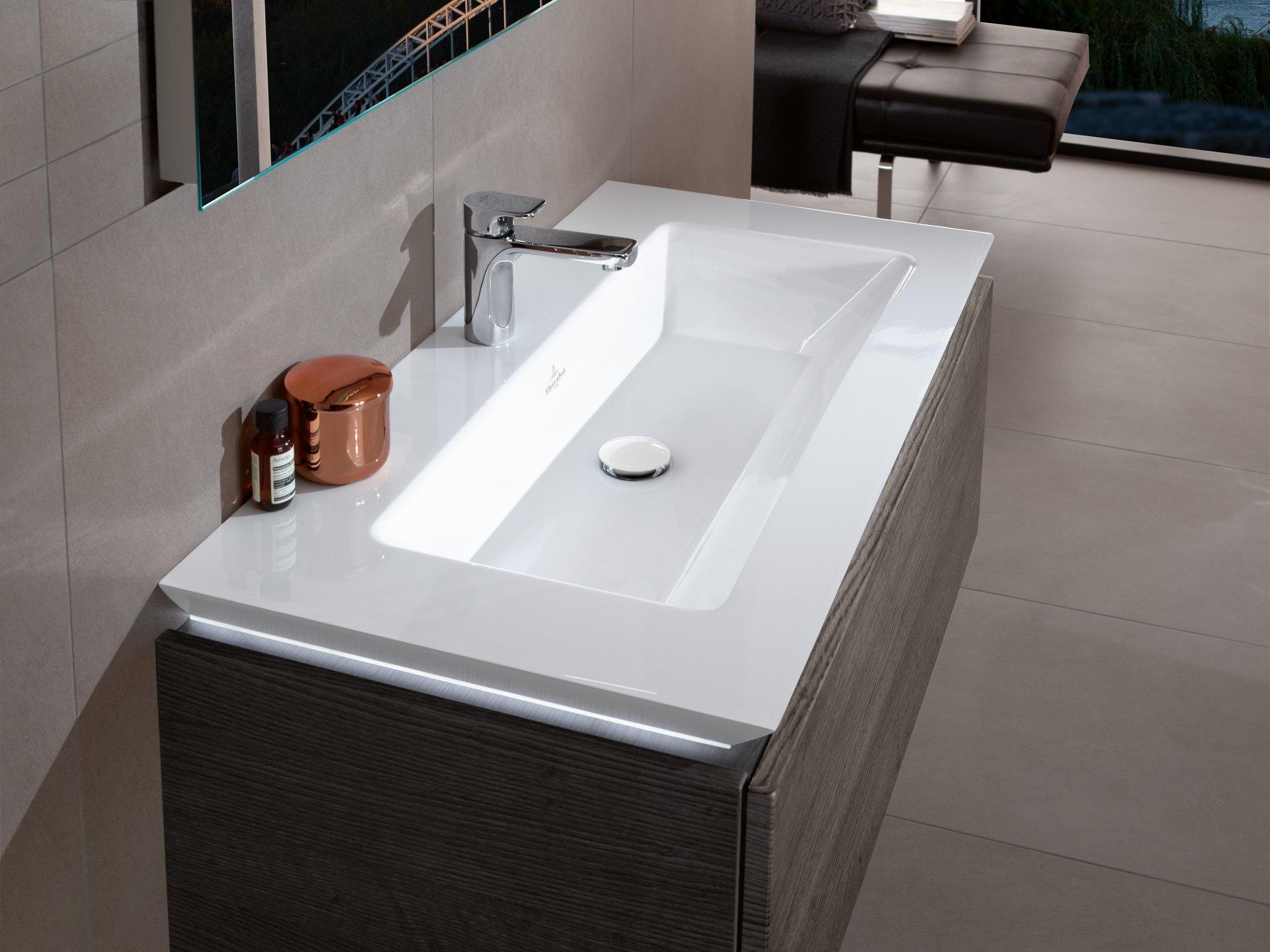 раковина с тумбой в ванную комнату дизайн
