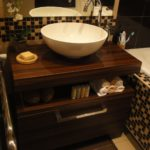 раковина с тумбой в ванную фото декора