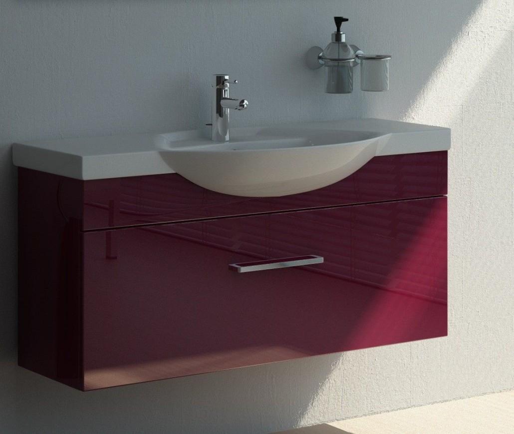 раковина с тумбой в ванную фото дизайна