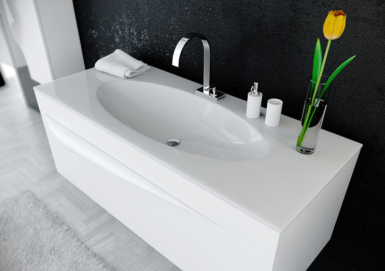 раковина с тумбой в ванную фото идеи