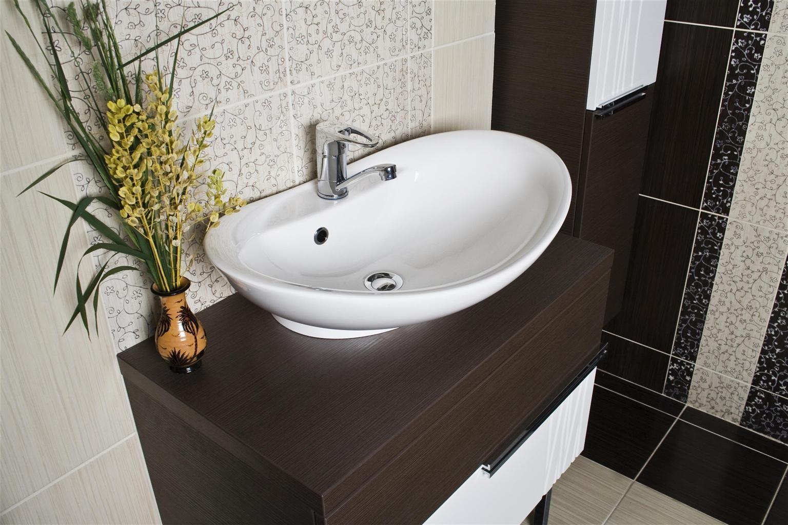 раковина с тумбой в ванную идеи дизайн