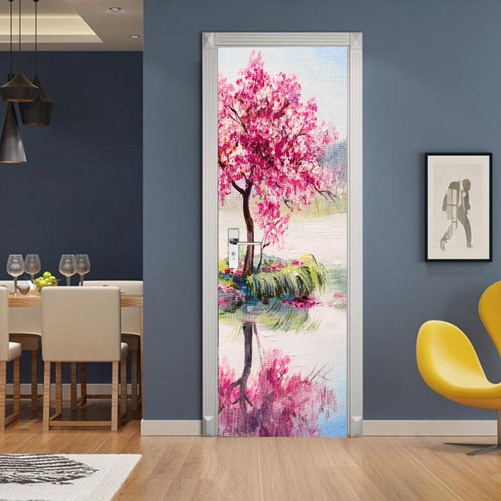 как разрисовать дверь