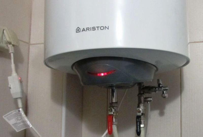чистка водонагревателя