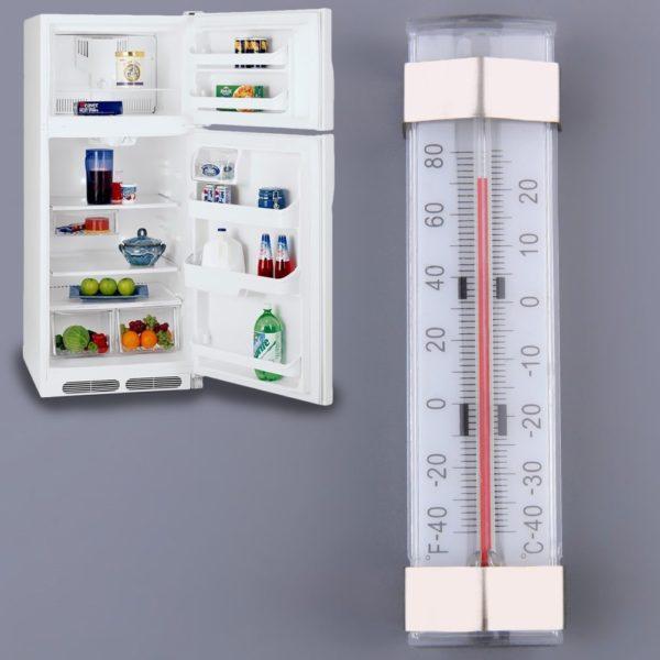 Народные способы измерения температуры в холодильнике