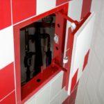ревизионный люк в ванной фото декора