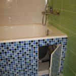 ревизионный люк в ванной идеи интерьера