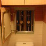 ревизионный люк в ванной интерьер фото